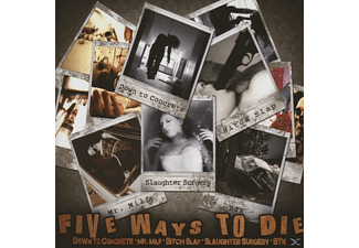 VARIOUS - Five ways to Die - (CD)
