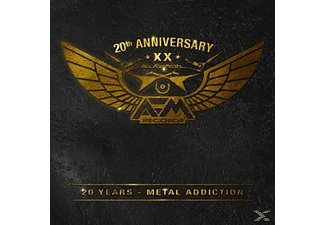 VARIOUS - 20 Years-Metal Addiction Afm Records [CD]