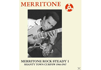 VARIOUS - Merritone Rock Steady 1:Shanty Town Curfew '66-'67 [CD]