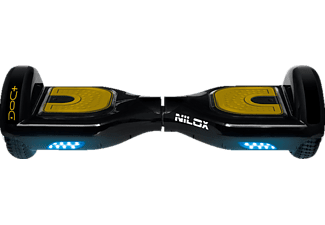 NILOX DOC Hoverboard PLUS 6.5 Hoverboards (Schwarz/Gold)