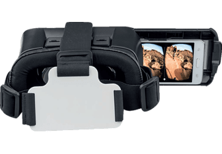 4SMARTS VR SPECTATOR PLUS, Virtual Reality Brille, Schwarz
