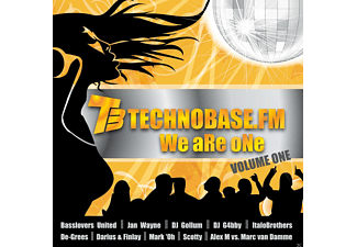 VARIOUS - Technobase.Fm Clubinvasion Vol.1 - (CD)