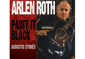 Arlen Roth - Paint It Black: Acoustic Stones [CD]