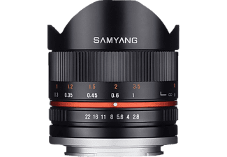 SAMYANG 8MM f/2.8 Fisheye II Sony