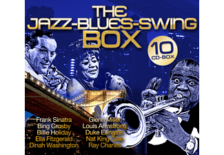 VARIOUS - The Jazz - Blues - Swing - Box [Box-Set] [CD]