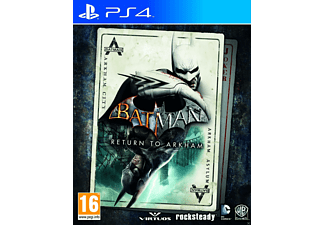 PS4 Batman: Return to Arkham Action
