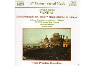 VARIOUS, Grodd/Aradia Ensemble/Tower Voices - Missa Pastoralis In G/Missa Solemnis - (CD)