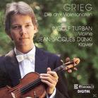 Jean-jacques Dunki Ingolf Turban - Die drei Violinsonaten (CD) jetztbilligerkaufen