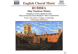 Cambri Choir Of St. John S College, Christopher/St.John's College Robinson - Tenebrae Motetten - (CD)