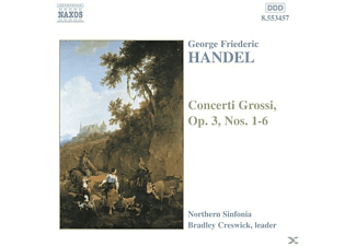 Northern Sinfonia, Bradley/northern Sinf Creswick - Concerti Grossi op.3 1-6 - (CD)