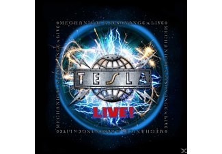Tesla - Mechanical Resonance Live - (CD)