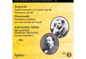 Bartłomiej Nizioł, Bbc Scottish Symphony Orchestra - Romantic Violin Concerto Vol.20 - (CD)
