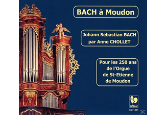 Chollet - Bach in Moudon - (CD)