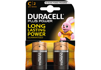 DURACELL Plus Power C 2-pack