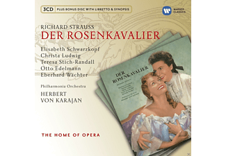 VARIOUS, Philharmonia Chorus, Children's Chorus from Loughton High School for Girls and Bancroft's School, The Philharmonia Orchestra - Der Rosenkavalier - (CD + CD-ROM)