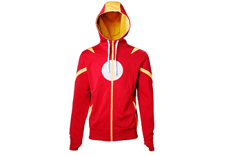Captain America Hoodie -L- Iron Man, rot
