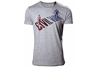 Captain America T-Shirt -L- Civil War