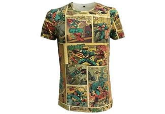 Marvel T-Shirt -S- Captain America Comic