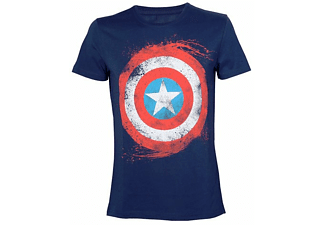 Marvel T-Shirt -S- Captain America Schild