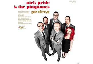 Nick Pride, The Pimptones - Go Deep [CD]