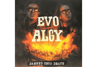 Evo, Algy - Damned Unto Death (White/Red Splatter Vinyl) [Vinyl]