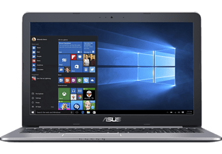 ASUS R516UW-DM022T, Notebook mit 15.6 Zoll Display, Core i7 Prozessor, 16 GB RAM, 1 TB HDD, 256 GB SSD, GeForce GTX 960M, Grau