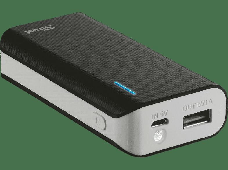 TRUST PRIMO POWERBANK 4400 PORTABLE CHARGER - BLACK - (21224) τηλεφωνία   πλοήγηση   offline αξεσουάρ κινητής smartphones   smartliving powerb
