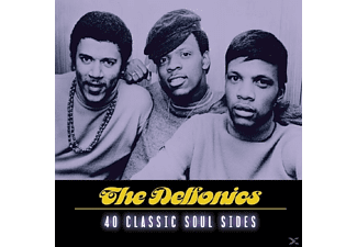 The Delfonics - 40 Classic Soul Sides [CD]