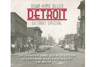 VARIOUS - Down Home Blues Detroit - (CD)