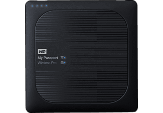 WD My Passport™ Wireless Pro, Externe Festplatte, 3 TB, 2.5 Zoll