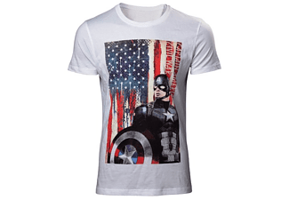 Captain America T-Shirt -XL- American Flag