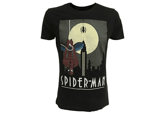 Marvel T-Shirt -M- Spiderman, schwarz