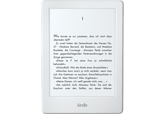 KINDLE (Version 2016) Ebook Reader 6 Zoll 4 GB  E-Book Reader Weiß