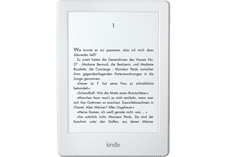 KINDLE (Version 2016) Ebook Reader mit Spezialangeboten 6 Zoll 4 GB  E-Book Reader Weiß