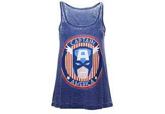 Marvel Tanktop (Damen) -M- Captain America