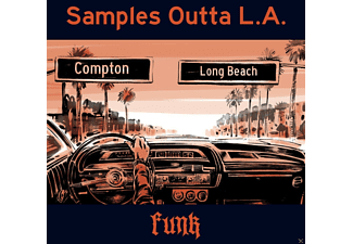 VARIOUS - Samples Outta L.A.-Funk (Ltd.Colored Vinyl+MP3) [LP + Download]