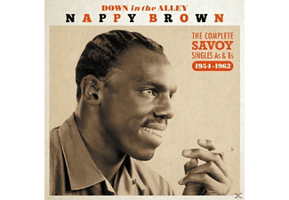 Nappy Brown - Down In The Alley - (CD)