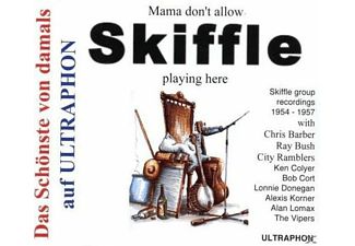 VARIOUS - Mama Don't Allow Skifle Playing Here - (CD)