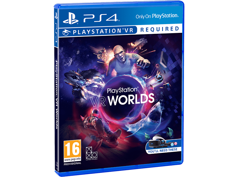 Worlds VR PS4 gaming   offline sony ps4