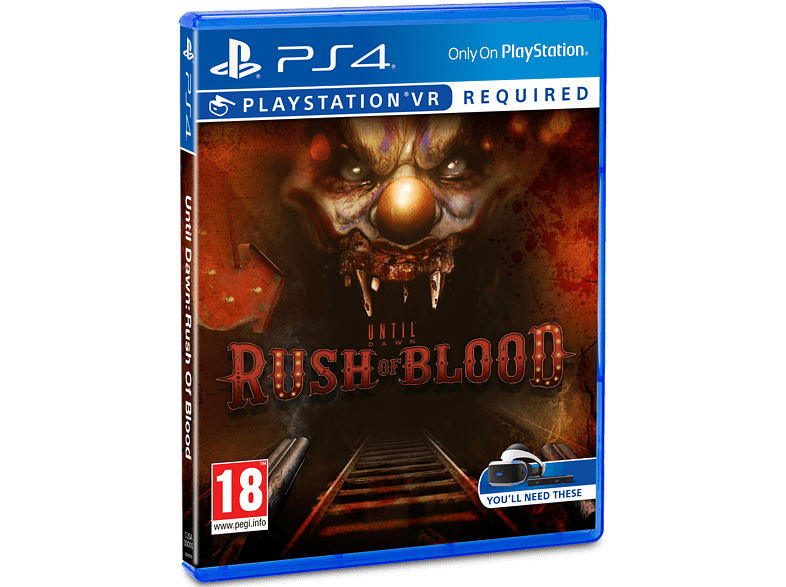Until Dawn: Rush of Blood VR PlayStation 4 gaming   offline sony ps4 psvr gaming games ps4 games