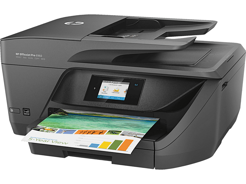 HEWLETT PACKARD Inkjet πολυμηχάνημα - Officejet Pro 6960 All-in-One Printer laptop  tablet  computing  εκτύπωση   μελάνια πολυμηχανήματα sales