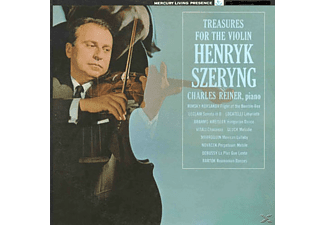 Henryk Szeryng, Charles Reiner - Treasures For The Violin - (Vinyl)