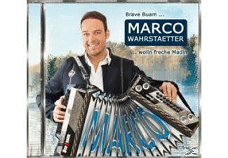 Marco Wahrstätter - Brave Buam wolln freche Madln - (CD)