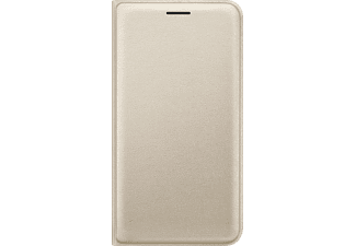 SAMSUNG EF-WJ120, Bookcover, Galaxy J1 (2016), Gold