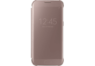 SAMSUNG EF-ZG930, Bookcover, Galaxy S7, Pink/Gold