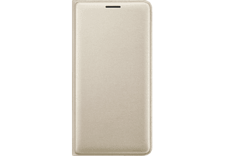 SAMSUNG EF-WJ320, Bookcover, Galaxy J3 (2016), Gold