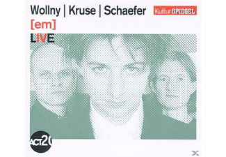 Kruse, WOLLNY/KRUSE/SCHAEFER - [em] Live (Kulturspiegel-Edition) - (CD)