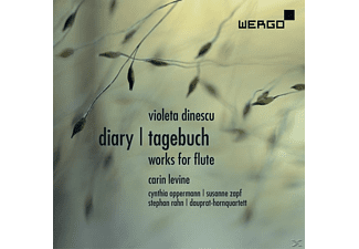 Levine Carin - Diary/Tagebuch.Works For Flute - (CD)