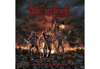 Blood Red Throne -  Union Of Flesh And Machine [CD]
