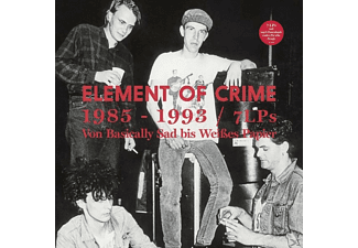 Element Of Crime - 1985-1993 (7 LP-Boxset,Limitiert) [Vinyl]